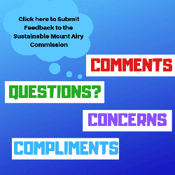 Sustainable Mount Airy Commission Feedback