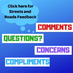 Streets and Roads Feedback